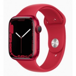 Watch Apple Watch Series 7 GPS 41mm Red Aluminium Case with...