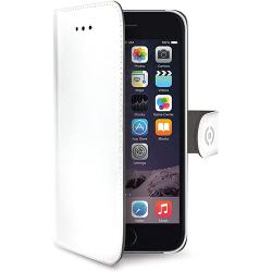 Celly Wally Custodia a Portafoglio Per iPhone 6/6S Bianco
