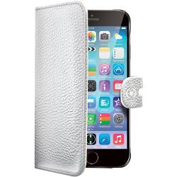 Celly Ambo Custodia a Portafoglio Per iPhone 6/6S Bianco